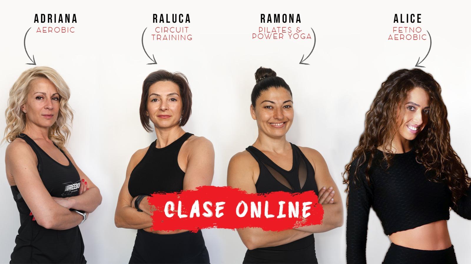 Adriana, Raluca, Ramona & Alice